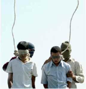 Avrättning av homosexuella i Iran