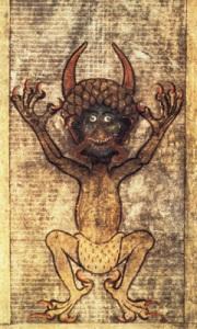 Djävul från silverbibeln