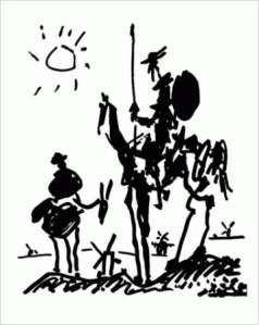 Picasso Don Quixote